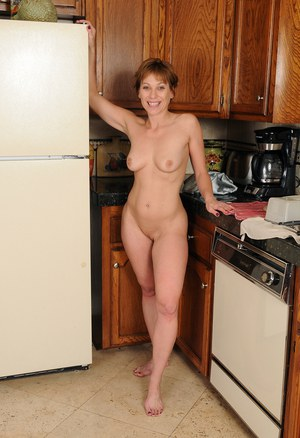 kitchen in Naked women mature