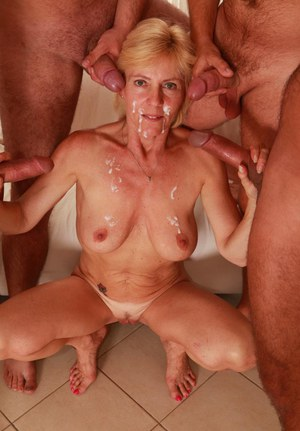 Mature gang bang com