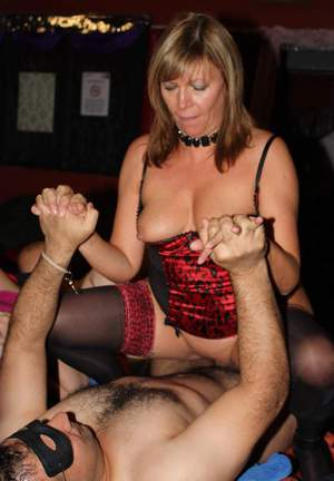 Mature milf party