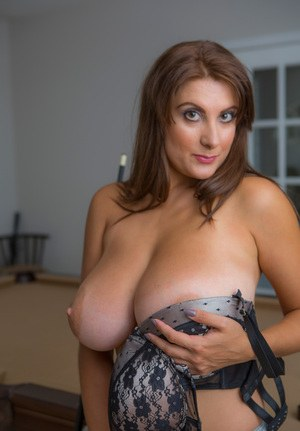 Big mature titted woman