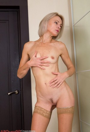 Mature naked breats