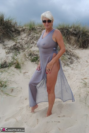 Nude beach milf group