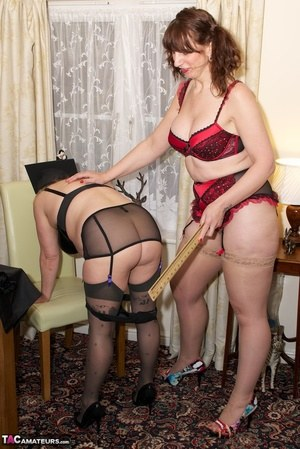 Already discussed mature wife spanked